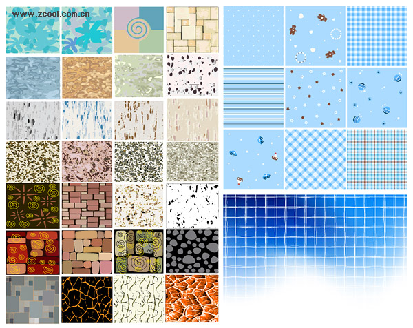 Número de vectores de una variedad de material de antecedentes