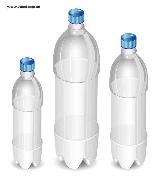 ベクトル ボトル空白素材