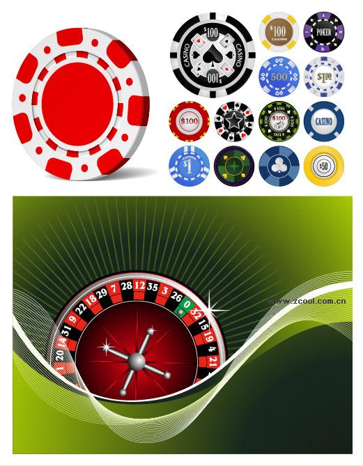 賭けツールのベクター素材