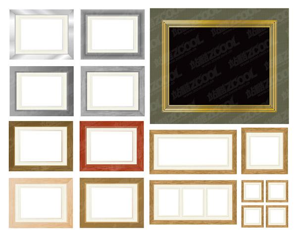Variedad de vectores materiales marco