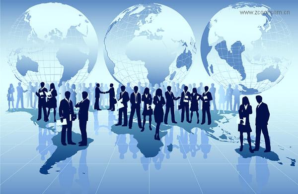วัสดุเวกเตอร์ของโลกธุรกิจ