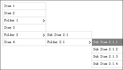 Barra de navegação horizontal CSS-10