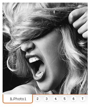 タイトル イメージ広告コード (js + css) の焦点をラウンド バンディング 7 のグラフ