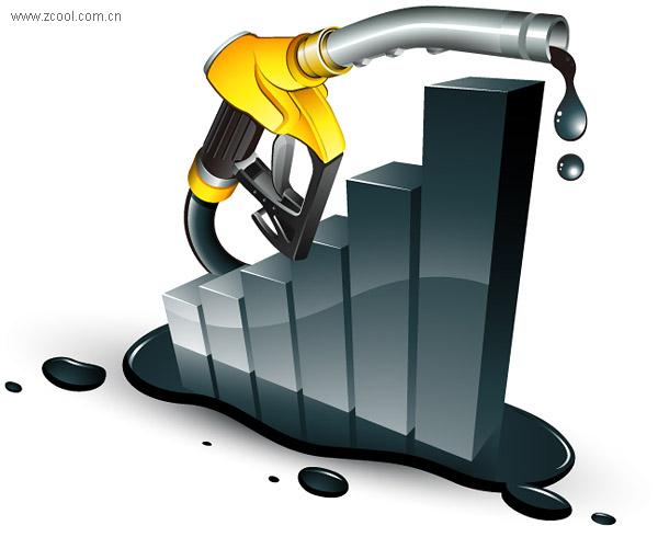 給油ブラウザー ベクトル グラフィックと統計資料