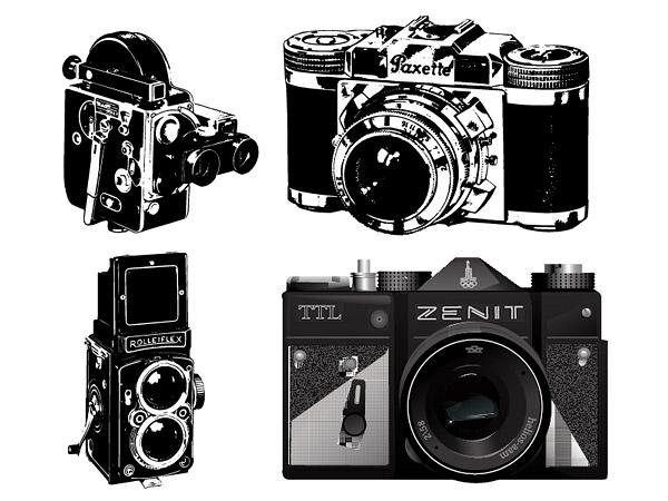 Material de vector de cámara