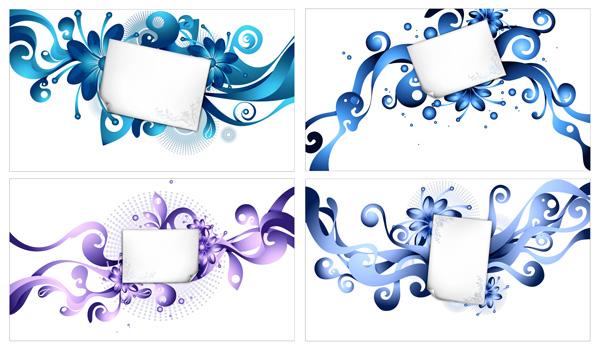 Шаблон документа и тенденция материальных элементов вектора