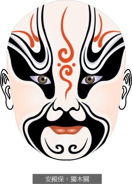 Beijing Opera Maske-2