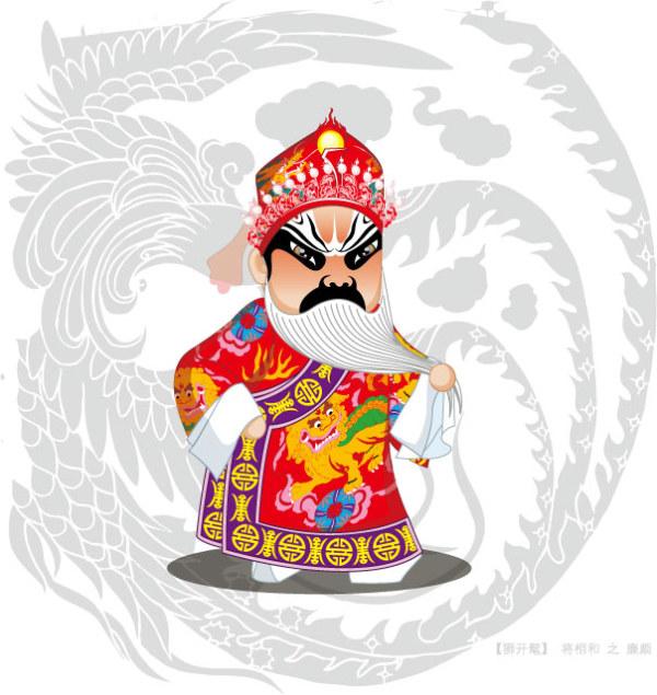 Q versión de la ópera de Pekín personajes-1