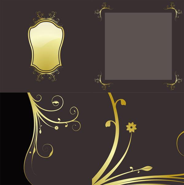 material de rendas ouro