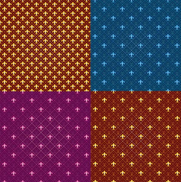 Tendencia de azulejo de patrón vector fondo de material