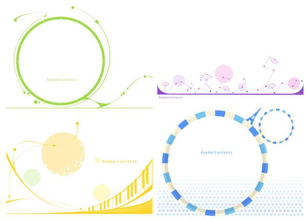 Teclado formas gráficos vectoriales
