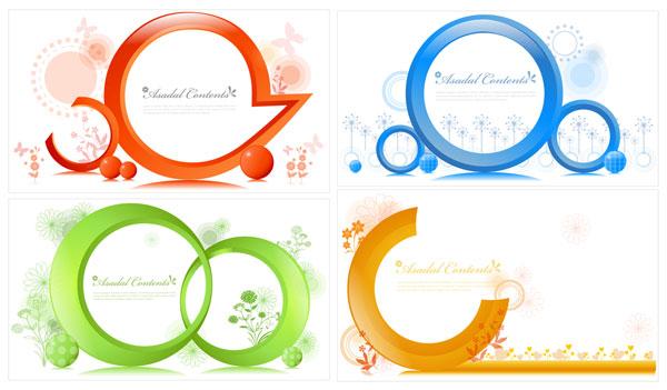 Vector de patrón circular