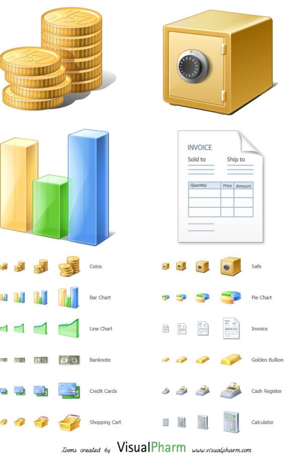 金融のアイコン、セーフティ ボックス