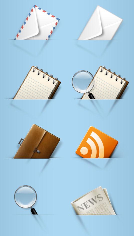 Envolvente de aviación, pincel, documentos, periódicos, iconos png