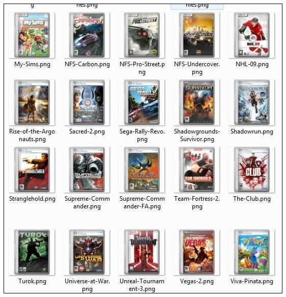 Films et les Jeux d'ordinateur couvrant les icônes png -2