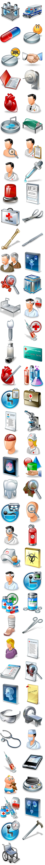 Suprimentos médicos ícone