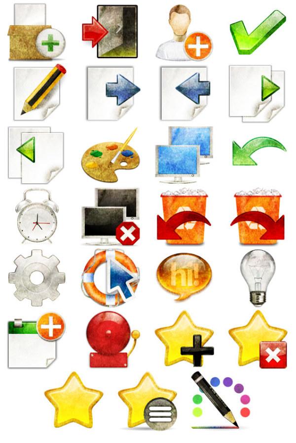 Personalizar escritorio iconos PNG