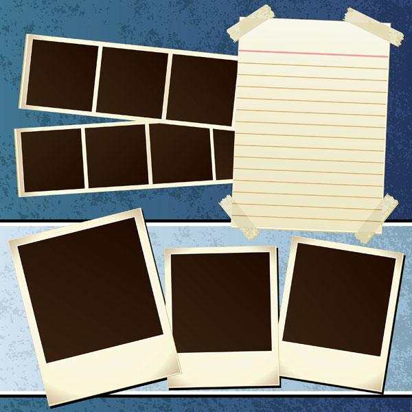 Fotos nostálgicas y papel
