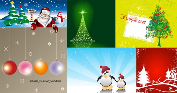 Nieve, señalización vial, tablones de anuncios, estrella, vector de pingüinos