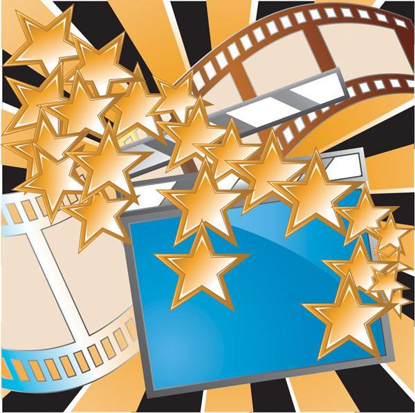 映画、星、映画