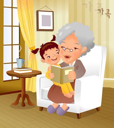 จิตรกรภาพประกอบการ์ตูนครอบครัว iClickart vector วัสดุ-11