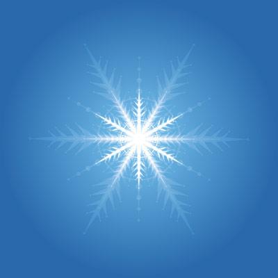 vecteur de flocon de neige