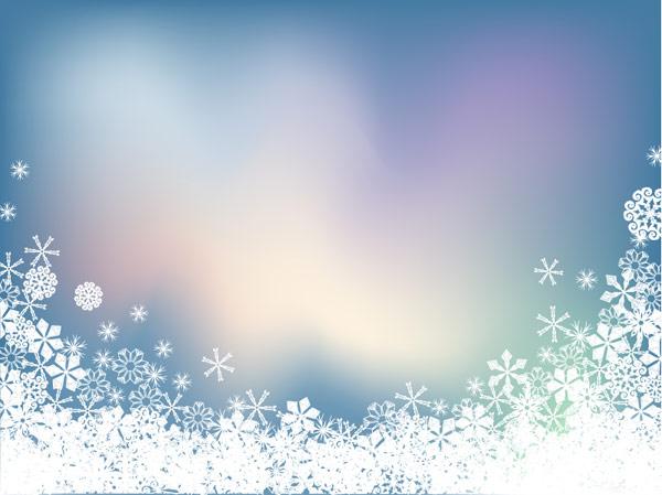 Vetor de Sinfonia do floco de neve