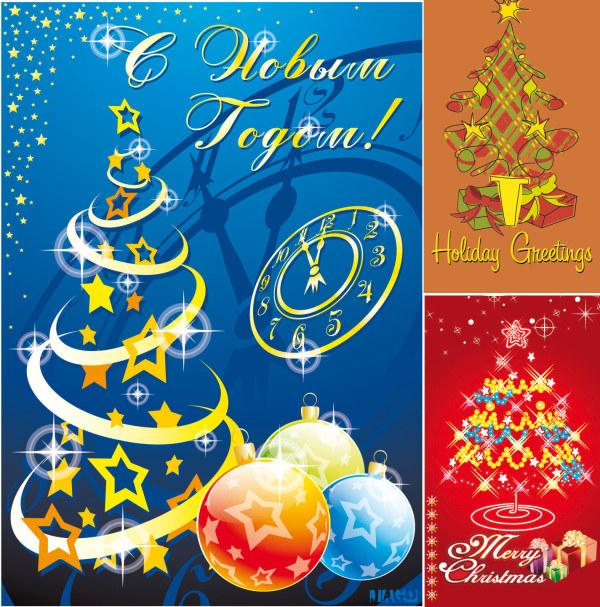 Вектор флэш-Рождественская елка