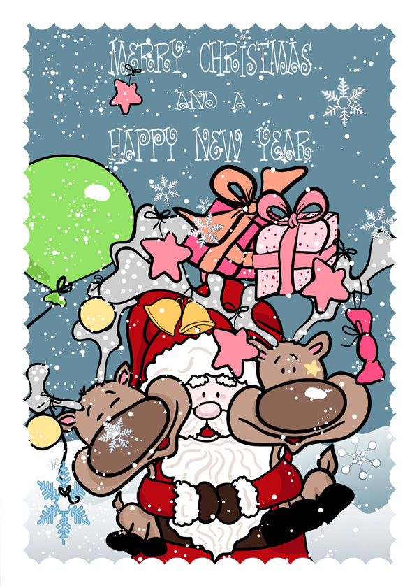 رسمت على يد بابا نويل، الهدايا، ومكافحة ناقلات