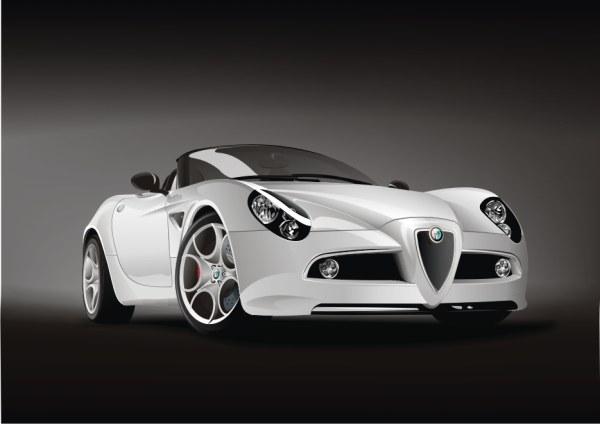 Alfa Romeo-8 c-Spider