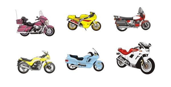 Vector motocicleta