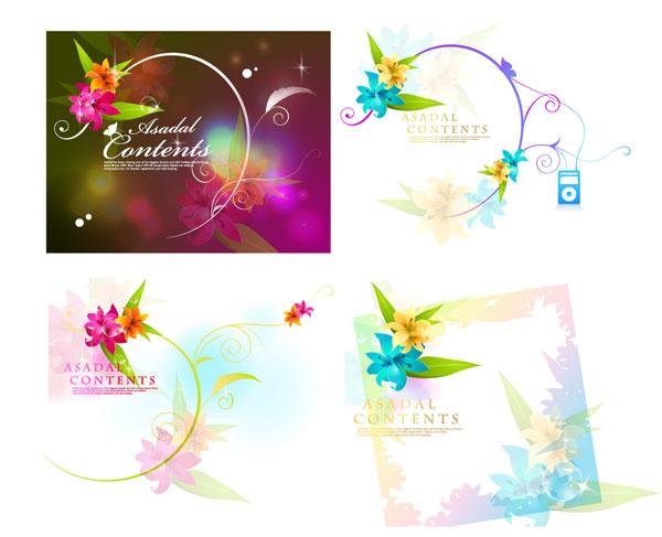 Sueño flor de vectores-1