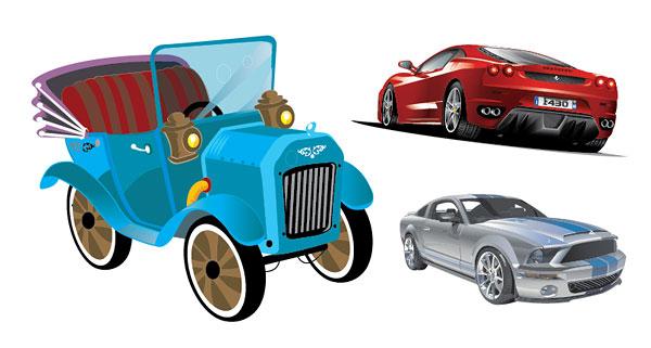 3 車のベクター素材