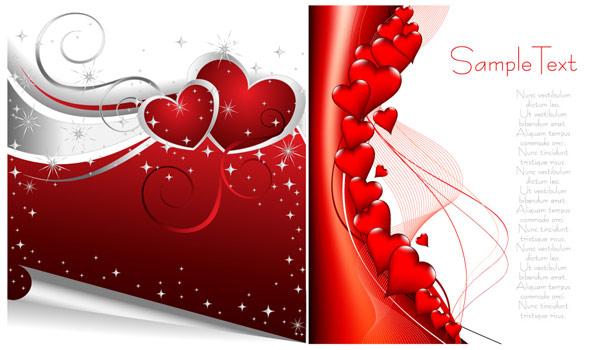 Matériau de vecteur élément Valentine