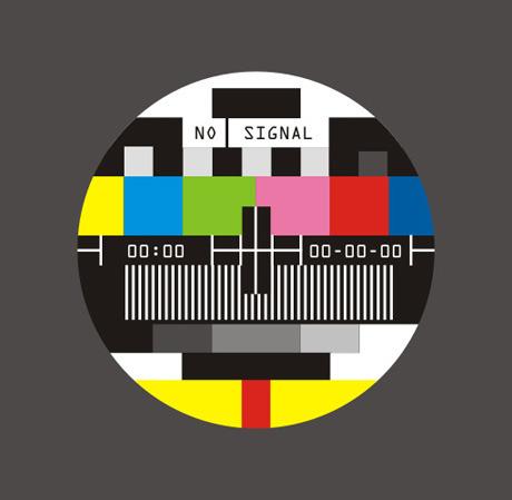 Écran de télévision ne pas signal vecteur matériel