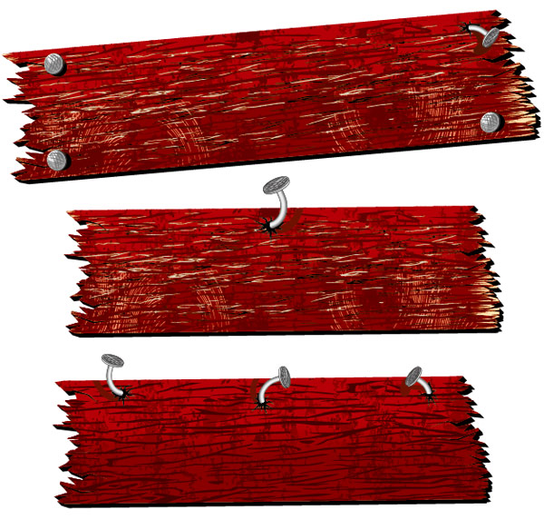 爪のベクター素材テンプレート