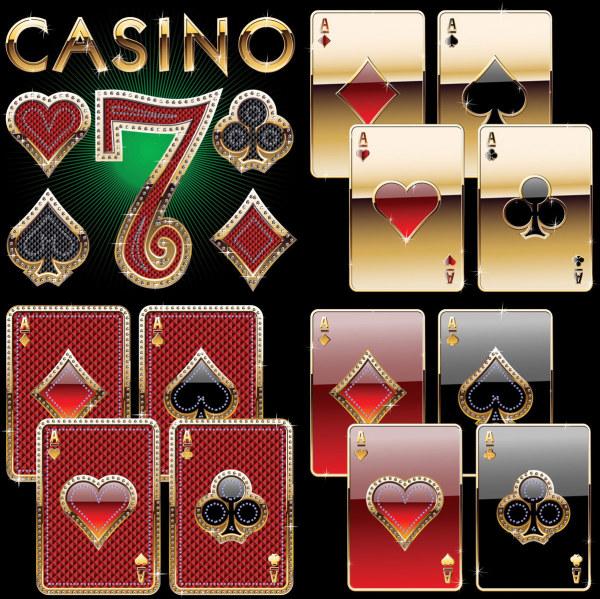 Material de Vector de Poker Deluxe