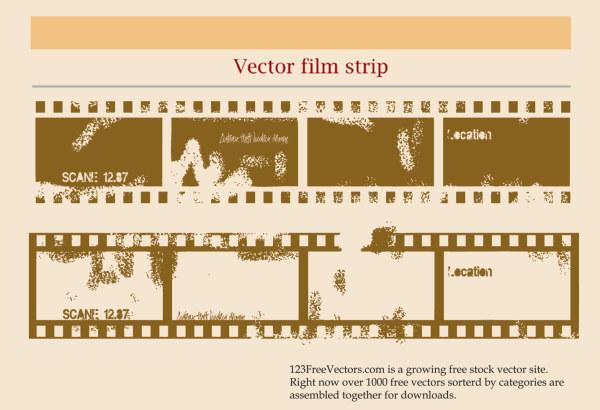 Глазчатая старый фильм вектор