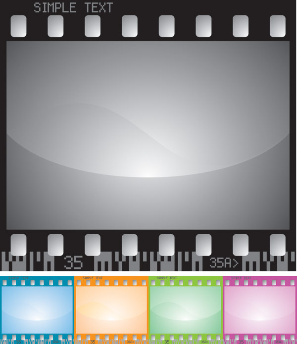 Material da película vector