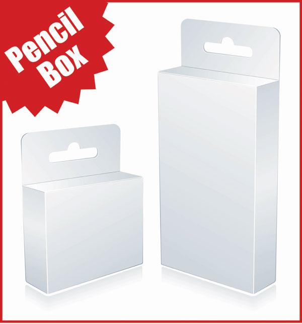 空白のボックスのベクター素材