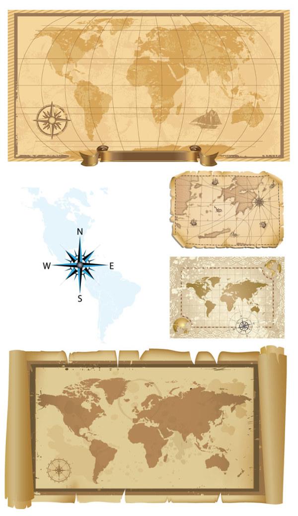 벡터 자료의 옛 지도