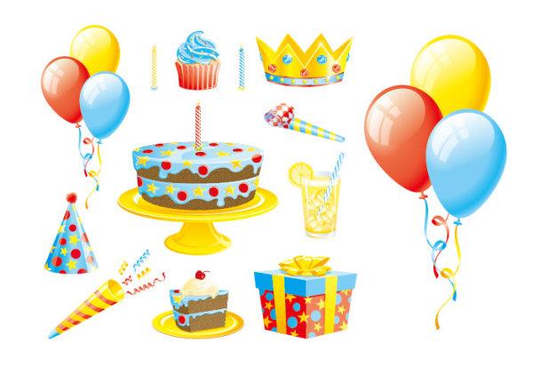 بالون كعكة هدية أشرطة مكافحة ناقلات المواد