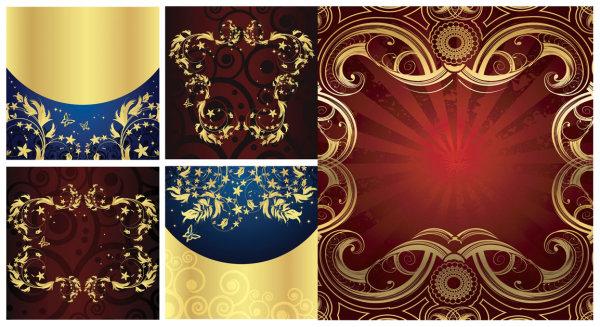 Golden Element Vektor-material