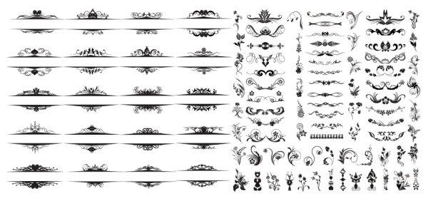 Простой моды шаблон векторного материала