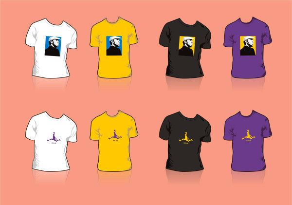 Diseño de la camiseta de Kobe Bryant
