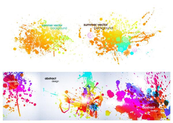 Симфония красок вектор