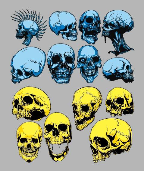 Скелет главный вектор материала