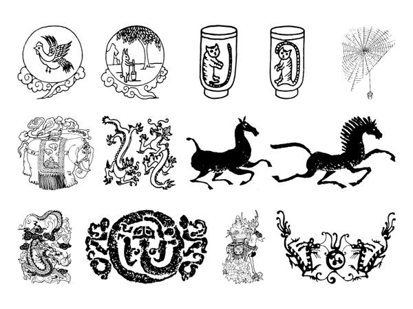 4 番目の中国の古典的なベクトル