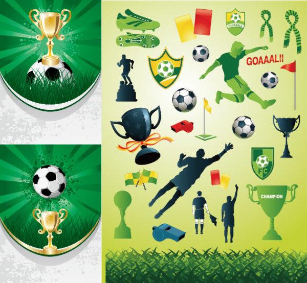 ฟุตบอลชุดรูปแบบเวกเตอร์