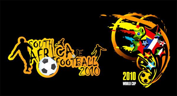 Vetor de Copa do mundo de 2010 na África do Sul